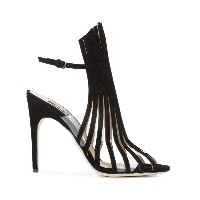 Sergio Rossi - string sandals - women - Calf Suede/レザー - 40