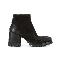 Marsèll - ridged sole ankle boots - women - レザー/rubber - 39.5