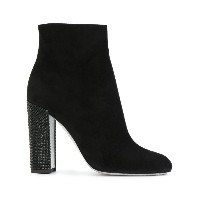 René Caovilla - high heeled ankle booties - women - レザー/rubber - 39