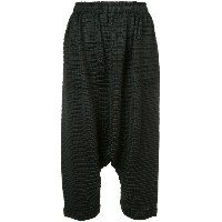 Pleats Please By Issey Miyake - Arare pants - women - ポリエステル - 3