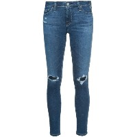 Ag Jeans - distressed skinny jeans - women - コットン/ポリエチレン - 31