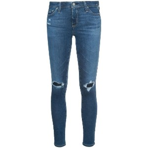 Ag Jeans - distressed skinny jeans - women - コットン/ポリエチレン - 27