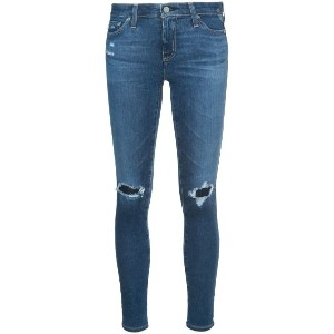 Ag Jeans - distressed skinny jeans - women - コットン/ポリエチレン - 32