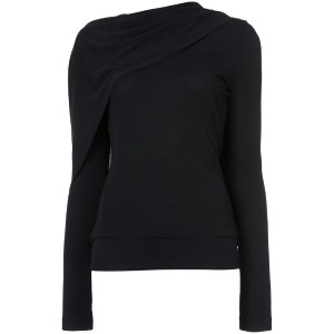 Roland Mouret - classic knitted top - women - ビスコース/ポリエステル - 14