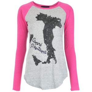 Andrea Bogosian - raglan sleeves top - women - コットン/ポリエステル - M