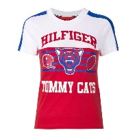 Hilfiger Collection - Tommy Cats Tシャツ - women - コットン - XS