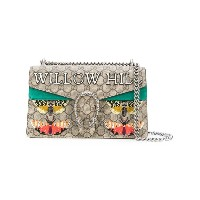 Gucci - Dionysus embroidered shoulder bag - women - レザー/スエード - ワンサイズ