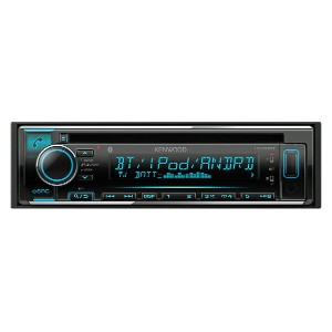 KENWOOD ケンウッド CD/USB/iPod/Bluetoothレシーバー MP3/WMA/AAC/WAV/FLAC対応 U370BT