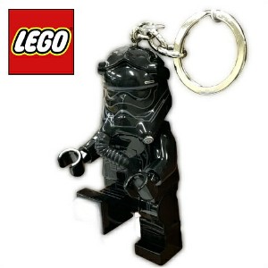 LEGO レゴ スター・ウォーズ ファースト・オーダー タイパイロット LEDライト キーホルダーSTAR WARS FIRST ORDER TIE PILOT LED KEY LIGHT