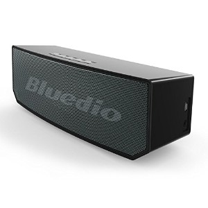 Bluedio BS-5 Camel Series Bluetoothスピーカー ポータブルワイヤレススピーカー 内蔵マイク搭載 (ブラック)