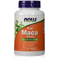 海外直送品Now Foods Maca, 90 Vcaps 750 mg(Pack of 2)