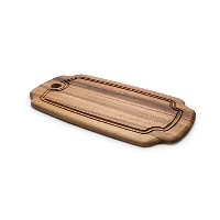 Ironwood Gourmet, Acacia Wood, 15-inch by 8-inch by .5-inch Rectangular Board by Ironwood Gourmet