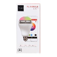 ユニセックス MIPOW BLUETOOTH 4.0 DEVICE,RGB COLOR LIGHT BULB WITH BLUETOOTH SPEAKER AND APP CONTROL...