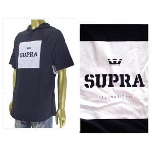 SUPRA スープラ INTERNATIONAL HOODED RAGLAN Tシャツ メンズ 【103347-008 INTE】