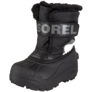 Sorel Snow Commander Childrens Winter Boot カラー: ブラック