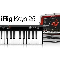 iRig Keys 25 IK Multimedia 新品 25鍵 MIDIキーボード[IKマルチメディア][アイリグ][iPhone/iPod Touch/iPad用][MIDI Keyboard]