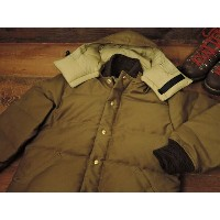 CRESCENT DOWN WORKS x CONEY ISLAND DOWN JACKET DOWN JACKET [KHAKI JUNGLE CLOTH] / クレセントダウンワークス x...