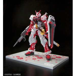 BANDAI RG 1/144 ASTRAY RED FRAME PLATED VER. MODEL