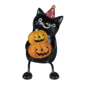 【25%OFF】HALLOWEEN 黒猫とパンプキンセット n/a ゲーム・おもちゃ > その他