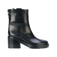 Ann Demeulemeester - chunky heel ankle boots - women - カーフレザー/レザー - 38