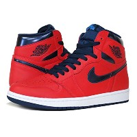 [ナイキ]NIKE AIR JORDAN 1 RETRO HIGH OG LIGHT CRIMSON/MIDNIGHT NAVY/WHITE 【LIGHT...