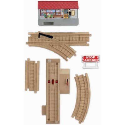 Thomas & Friends TrackMaster Sodor Sounds Track Pack Includes 17 Pieces [並行輸入品]