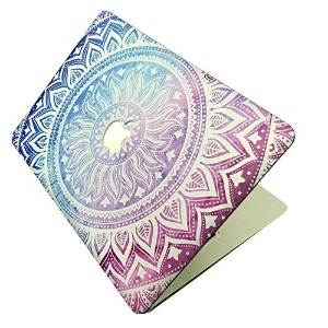 Macbook Air 13 Inch Case, [The Sunflower Design] Soundmae Frosted Plastic Hard Shell Skin Smooth...