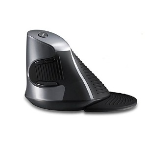 Dr Mouse DRマウス WM618 ワイヤレス レーザー マウス 高解像度 垂直保護マウス Wireless Laser Mouse High DPI Vertical Mouse...