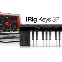 iRigKeys 37 IK Multimedia 新品 37鍵 MIDIキーボード[IKマルチメディア][アイリグ][iPhone/iPod Touch/iPad用][MIDI Keyboard]