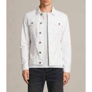GLOVER DENIM JACKET (Vintage White)