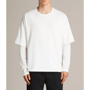【SALE 29%OFF】SPINDLE LS CREW (Chalk White)