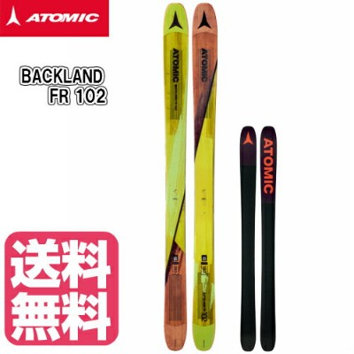 2017/2018 ATOMIC BACKLAND FR 102 アトミック スキー 板のみ ファット パウダー ロッカー 送料無料