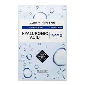 ETUDE HOUSE 0.2 Therapy Air Mask 20ml×10ea (#08 Hyaluronic Acid)/エチュードハウス 0.2 セラピー エア マスク 20ml×10枚 ...