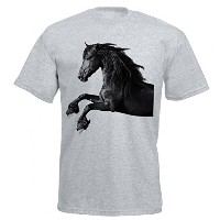 Galloping Horse Tシャツ