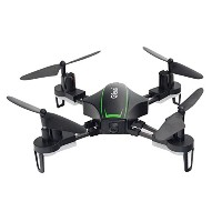 owill GtENg t912FリモートコントロールRacing Aircraft Small 5.8GカメラVedio PFVクアッドコプターDrone One Size ブラック...