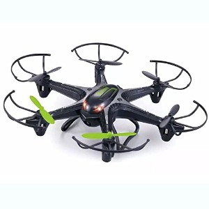 owill Great Xmasギフト4チャネル6-axis SK d222.4GHz RCクアッドコプタードローンfor Kids One Size ブラック OW092205BK