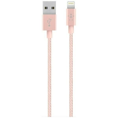 BELKIN iPad / iPad mini / iPhone / iPod対応 Lightning ⇔ USBケーブル 充電・転送 (1.2m・ローズゴールド) MFi認証 F8J144BT04...