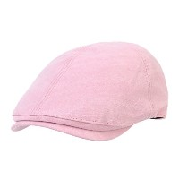 WITHMOONS キャスケットハンチング帽 Simple Newsboy Hat Flat Cap SL3026 (Pink)
