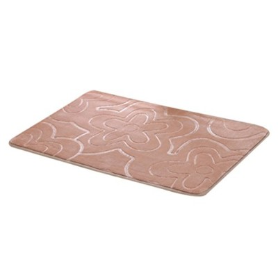 Zhhlaixing 高品質 Flannel Rectangle Non-Slip Soft Carpet Bathroom Bedroom Bath Mat Absorbent Floor Rug