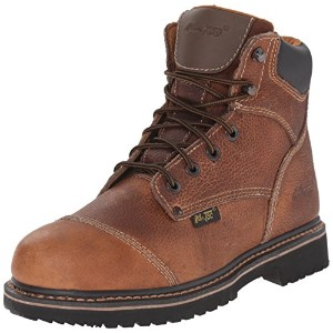 AdTec Men's 6 Inch Comfort Work Boot, Light Brown, 10.5 W US