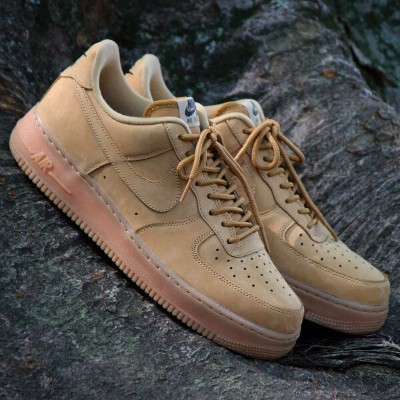 NIKE AIR FORCE 1 '07 WB(ナイキ エア フォース 1 '07 WB)FLAX/FLAX-GUM LIGHT BROWN-OUTDOOR GREEN【メンズ レディース...