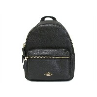 【スペシャル】Coach コーチ ミニ チャーリー バックパック COACH PEBBLED LEATHER MINI CHARLIE BACKPACK F38263 IMBLK IM/Black ...