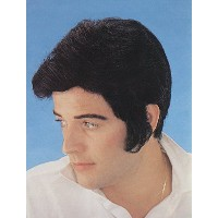 Bristol Novelty Black Elvis Levi Wig Wigs - Men's - One Size
