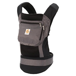 Ergo Baby Performance Baby Carrier (Black/ Charcoal)