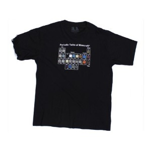 Minecraft Periodic Table T-Shirt (S-Size)