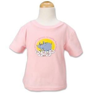 Trend Lab Dr. Seuss T-Shirt, Horton, Pink, 24 Months by Trend Lab