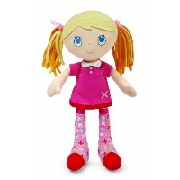 Socks Rock Doll, Blonde Hair by Kids Preferred