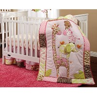 Carter's Jungle Collection 4 Piece Crib Set by Carter's