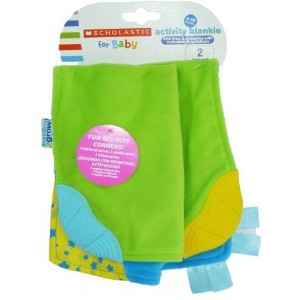 Scholastic for Baby Activity Blankie ( Girl )
