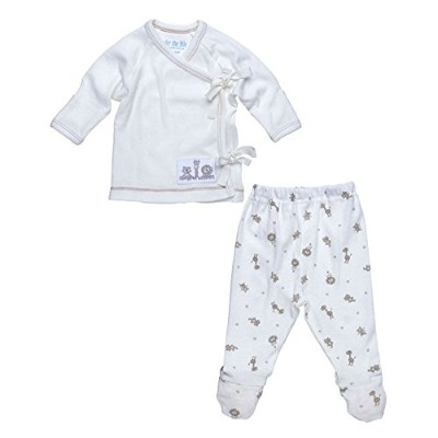 Under The Nile 2-Piece Layette Set (Animal Print) - 0-3 months by Under the Nile